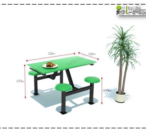 Mesas Escolares Fast Food Fabricante De Mobiliario - Mesas Para ...