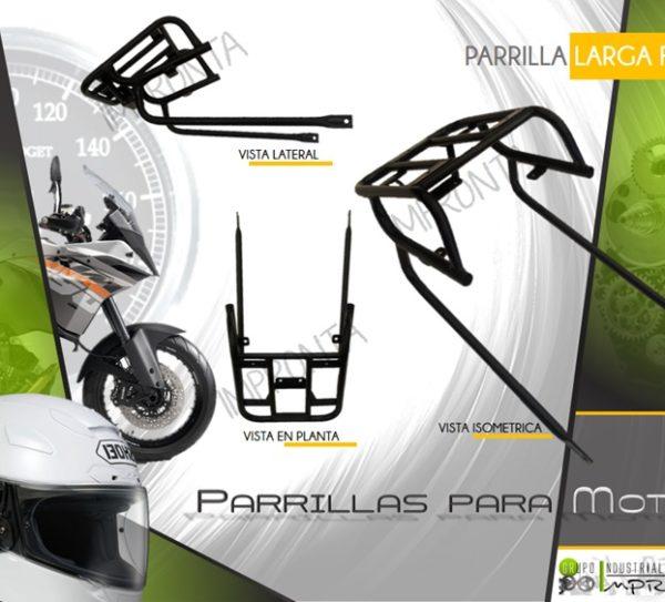 Parrillas para motos fabricante de mobiliario for Sillas para motos
